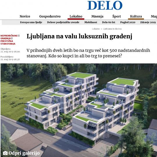 #1 - Ljubljana na valu luksuznih gradenj - Direktor METROPOLE IN za Delo