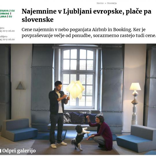 #1 - Višine najemnin stanovanj v primerjavi z preostalimi evropskimi prestolnicami