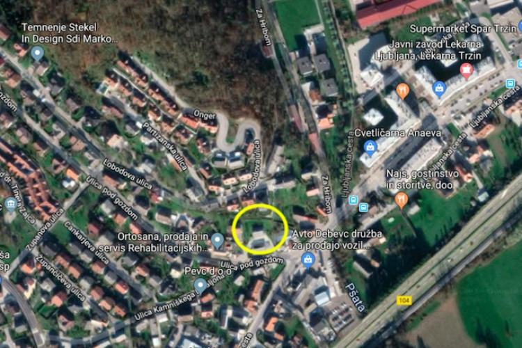 Lokacija: Ljubljana okolica, Trzin