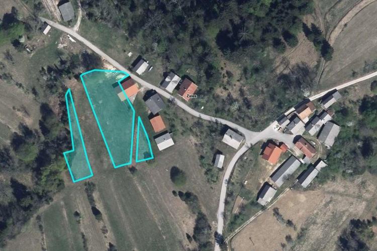 Lokacija: Notranjsko - kraška, Bloke, Zales