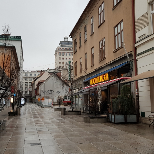 Location: Ljubljana city, Center