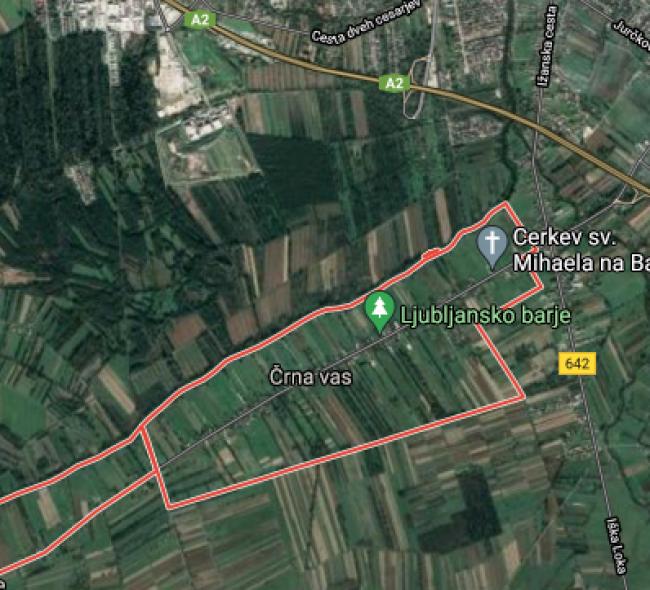 Lokacija: Ljubljana, Vič-Rudnik, Črna vas