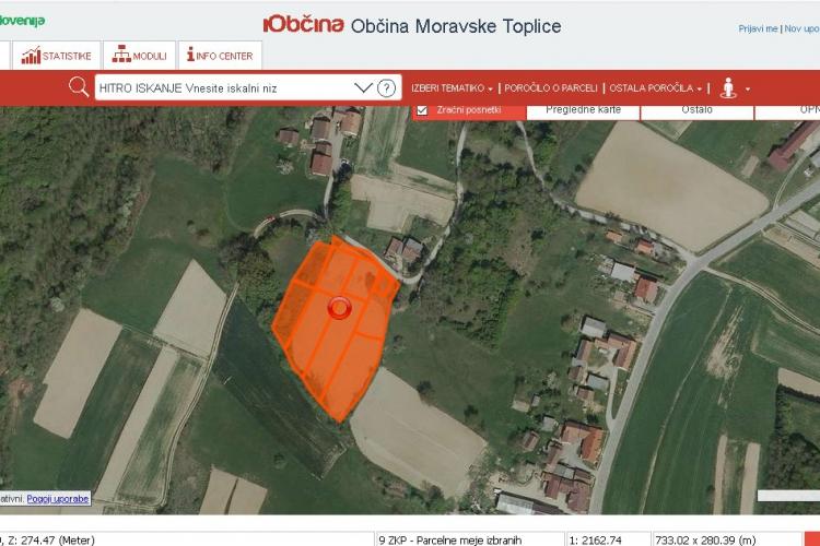 Lokacija: Pomurska, Moravske Toplice, Andrejci